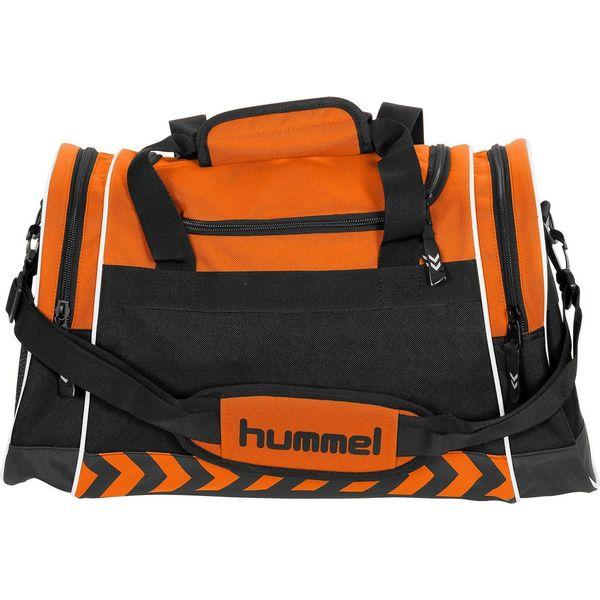 Hummel Sheffield (S) Sporttas Met Zijvakken - Oranje