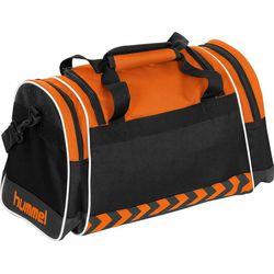 Voorvertoning: Hummel Sheffield (S) Sporttas Met Zijvakken - Oranje