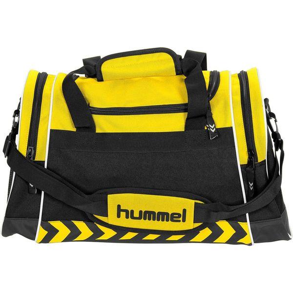 Hummel Sheffield (S) Sporttas Met Zijvakken - Geel