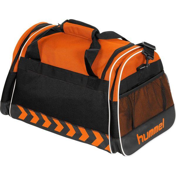 Hummel Milford (M) Sporttas Met Zijvakken - Oranje
