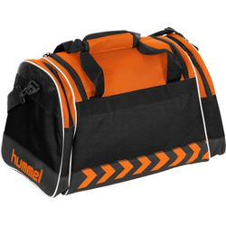 Voorvertoning: Hummel Milford (M) Sporttas Met Zijvakken - Oranje
