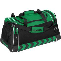 Hummel Luton (L) Sporttas Met Zijvakken - Groen / Zwart