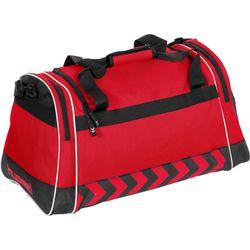 Voorvertoning: Hummel Luton (L) Sporttas Met Zijvakken - Rood / Zwart