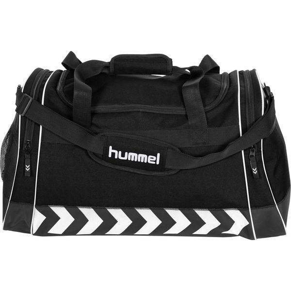 Hummel Luton (L) Sporttas Met Zijvakken - Zwart