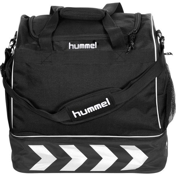 Hummel Pro Supreme Sporttas Met Bodemvak - Zwart