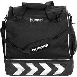 Voorvertoning: Hummel Pro Supreme Sporttas Met Bodemvak - Zwart