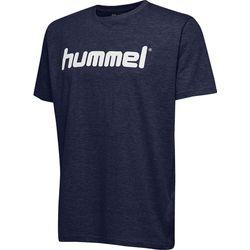 Hummel Go Cotton Logo T-Shirt Heren - Marine
