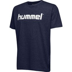Hummel Go Cotton Logo T-Shirt Kinderen - Marine