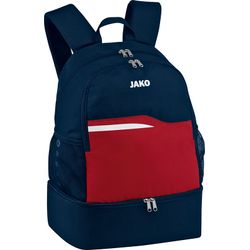 Jako Competition 2.0 Sac A Dos Compartiment Chaussures - Marine / Tango Rouge