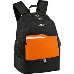 Jako Competition 2.0 Sac A Dos Compartiment Chaussures - Noir / Orange Fluo