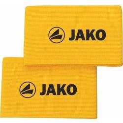 Jako Elastique Velcro Pour Protège-Tibias - Jaune
