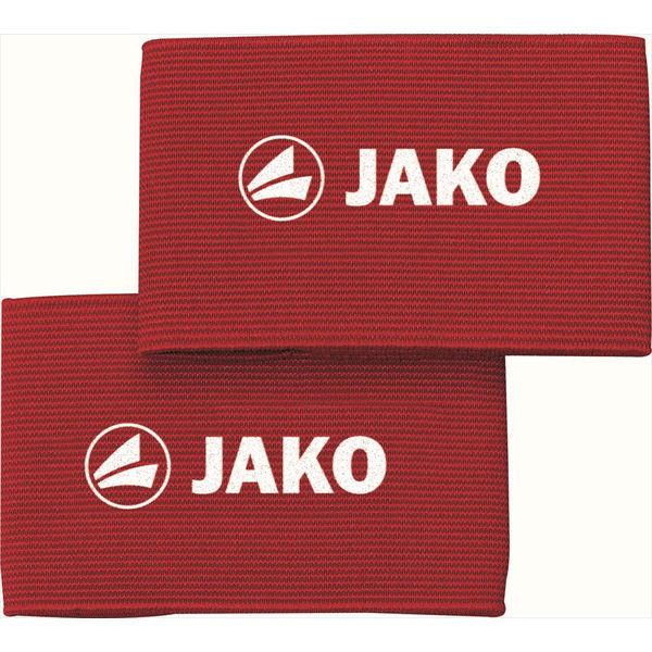 Jako Elastique Velcro Pour Protège-Tibias - Rouge / Blanc