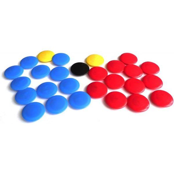 Jako Reserve Magneten Voor Het Tactiekbord - Blauw / Rood