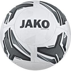 Jako Match 2.0 Ballon De Compétition Et D'entraînement - Blanc / Gris Pierre / Anthracite