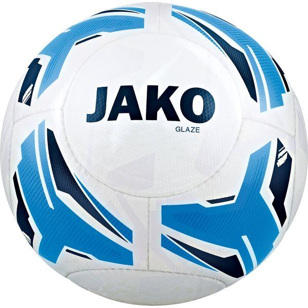 Jako Glaze Ballon D'entraînement - Blanc / Bleu