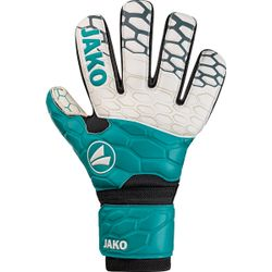Jako Prestige Basic Rc Keepershandschoenen Kinderen - Wit / Turkoois / Antraciet
