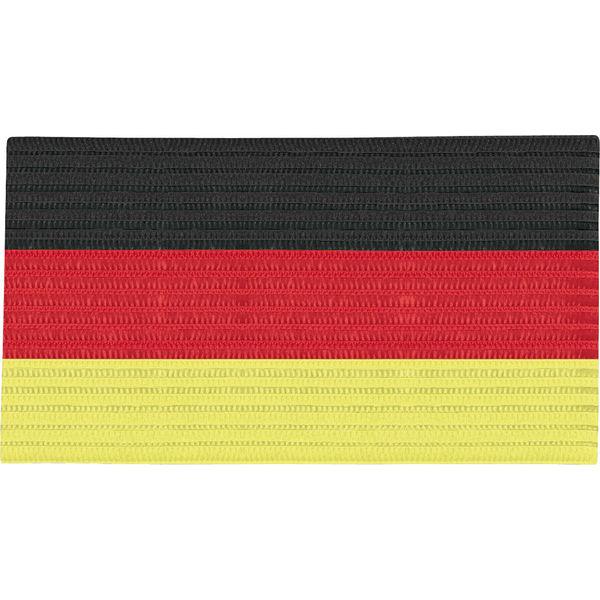 Jako Aanvoerdersband - Zwart / Rood / Geel