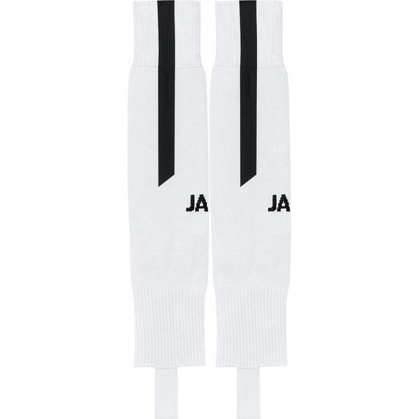 Jako Lazio Chaussettes De Football Footless - Blanc / Noir