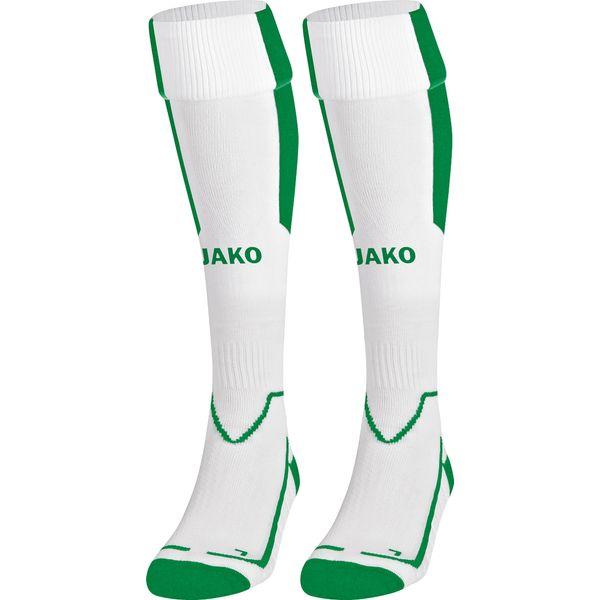 Jako Lazio Chaussettes De Football - Blanc / Vert Sport
