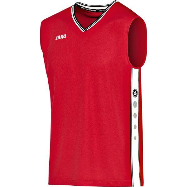Jako Center Maillot De Basketball Enfants - Rouge / Blanc