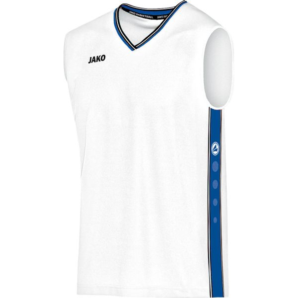 Jako Center Maillot De Basketball Enfants - Blanc / Royal