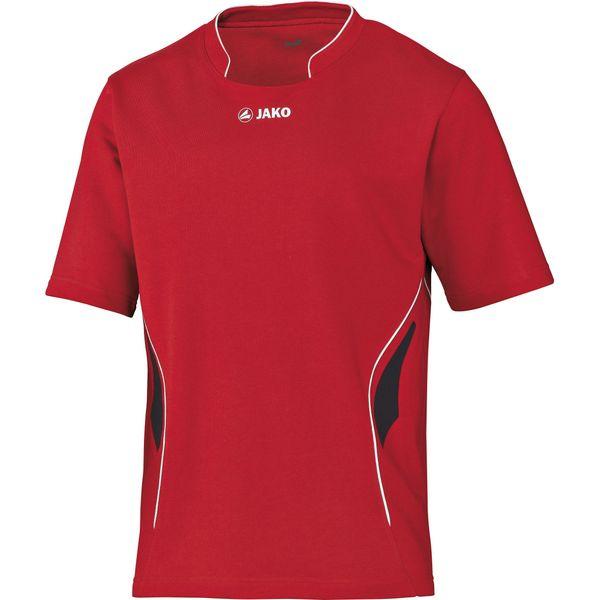 Jako Challenge Volleybalshirt Heren - Rood / Zwart / Wit