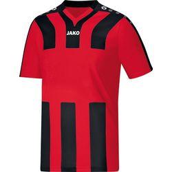 Jako Santos Shirt Korte Mouw Kinderen - Rood / Zwart