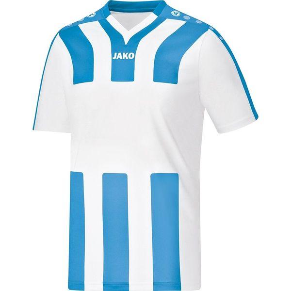 Jako Santos Shirt Korte Mouw Kinderen - Wit / Hemelsblauw