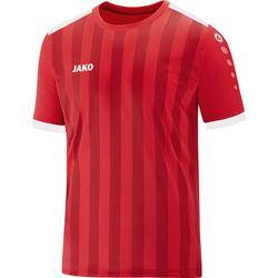 Jako Porto 2.0 Shirt Korte Mouw Kinderen - Rood / Wit