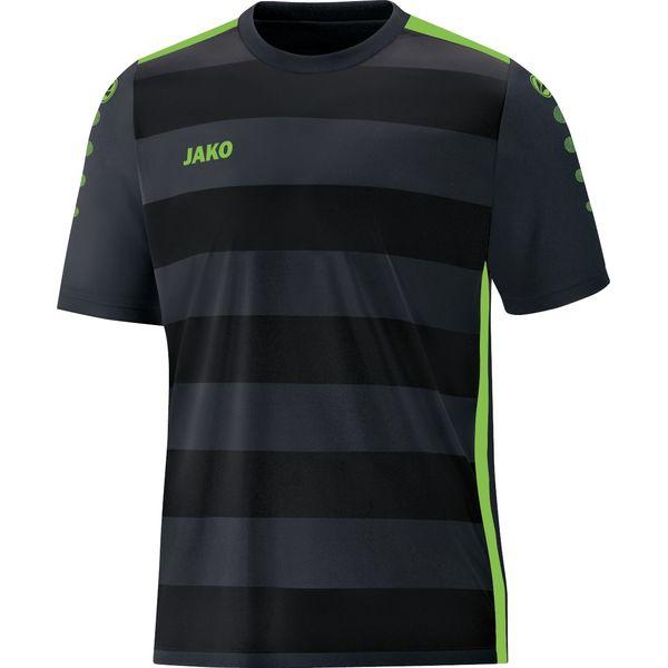 Jako Celtic 2.0 Shirt Korte Mouw Kinderen - Zwart / Fluo Groen