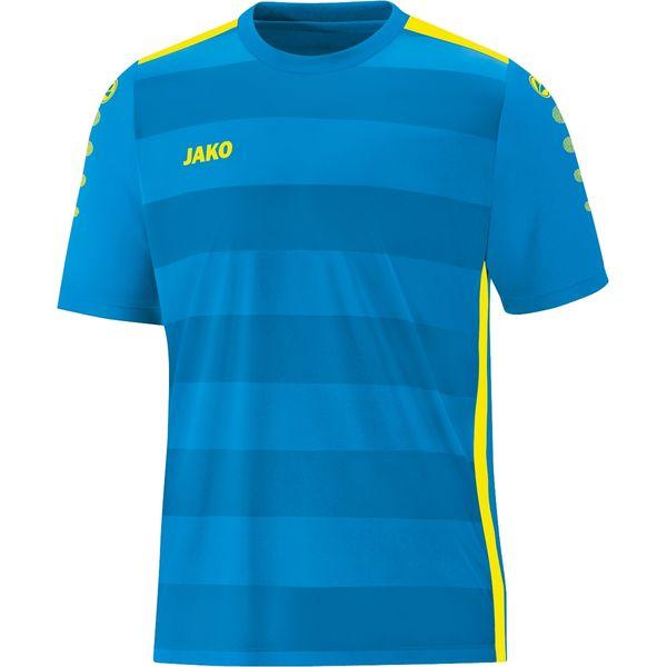 Jako Celtic 2.0 Shirt Korte Mouw - Jako Blauw / Fluogeel