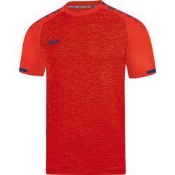 Jako Prestige Shirt Korte Mouw - Flame Gemeleerd / Navy