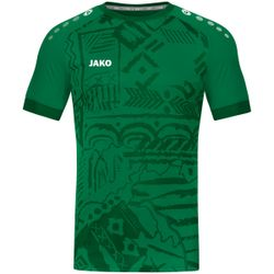 Jako Tropicana Maillot Manches Courtes Hommes - Vert Sport
