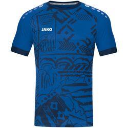 Jako Tropicana Shirt Korte Mouw - Sportroyal / Navy