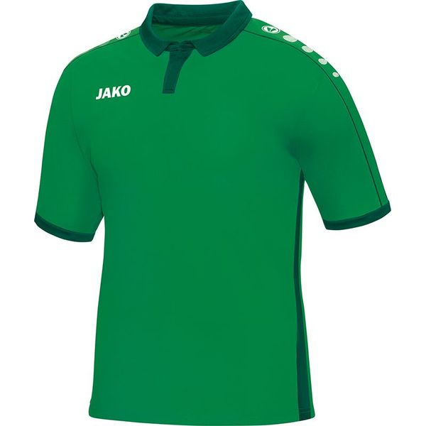 Jako Derby Shirt Korte Mouw Kinderen - Sportgroen / Groen