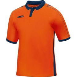 Jako Derby Maillot Manches Courtes Hommes - Flame / Marine