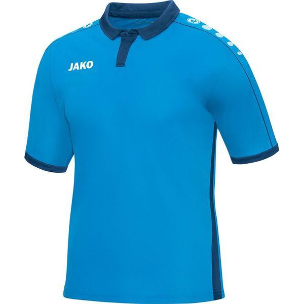 Jako Derby Shirt Korte Mouw Heren - Jako Blauw / Marine
