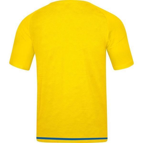 Jako Striker 2.0 Shirt Korte Mouw Kinderen - Citroen / Royal