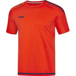 Jako Striker 2.0 Shirt Korte Mouw - Flame / Navy