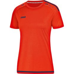Jako Striker 2.0 Shirt Korte Mouw Dames - Flame / Navy