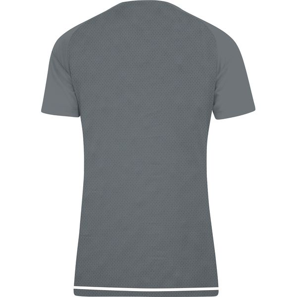 Jako Striker 2.0 T-Shirt Dames - Steengrijs / Wit