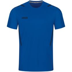 Jako Challenge Shirt Korte Mouw Kinderen - Royal / Marine