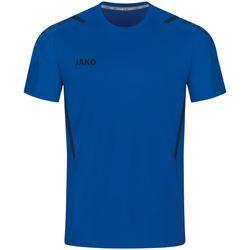 Jako Challenge Shirt Korte Mouw Heren - Royal / Marine