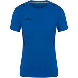 Jako Challenge Shirt Korte Mouw Dames - Royal / Marine