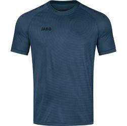 Jako World Shirt Korte Mouw - Staalblauw