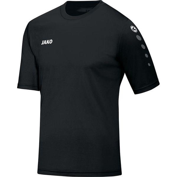 Jako Team Shirt Korte Mouw - Zwart