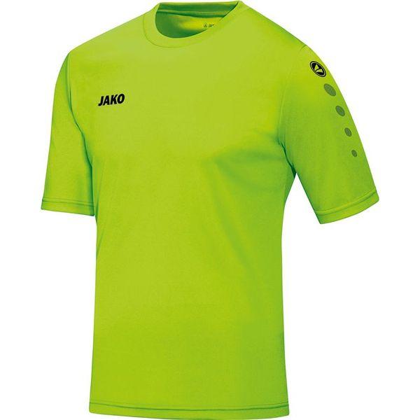Jako Team Shirt Korte Mouw - Fluo Groen