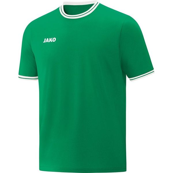 Jako Center 2.0 Shooting Shirt Kinderen - Sportgroen / Wit