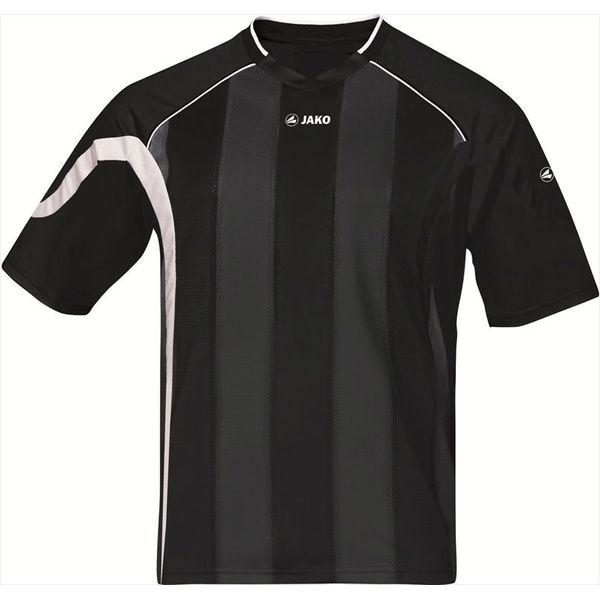 Jako Passion Shirt Korte Mouw Heren - Zwart / Wit / Zilver