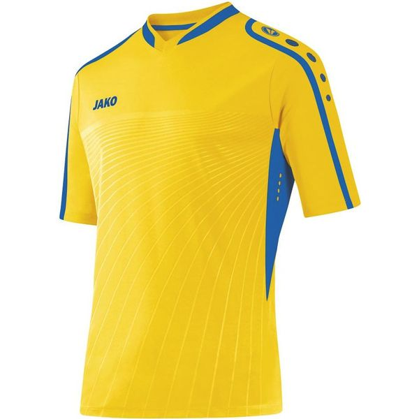 Jako Performance Shirt Korte Mouw Heren - Citroen / Royal